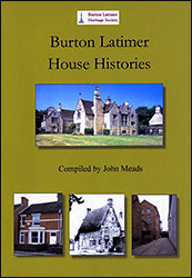 Burton Latimer House Histories book