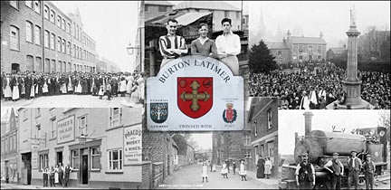 Burton Latimer - A Sense of Place: the history of the town and its people, including the shoe factores, the clothing factories, police, fire, ambulance.  There is also extensive genealogical information to assist people tracing their family history