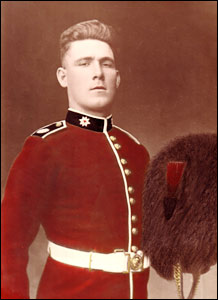 George Thurlow in the Coldstream Guards