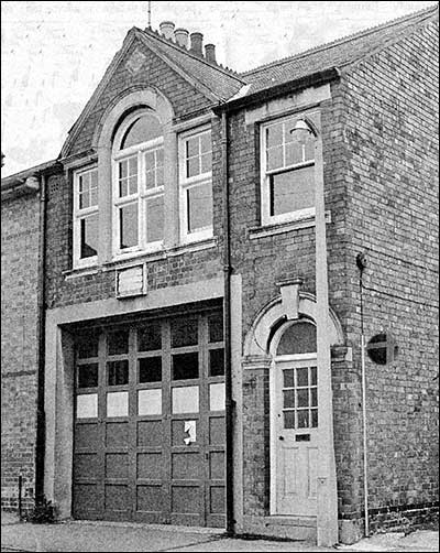 The fire station in Duke Street after closure in 1973