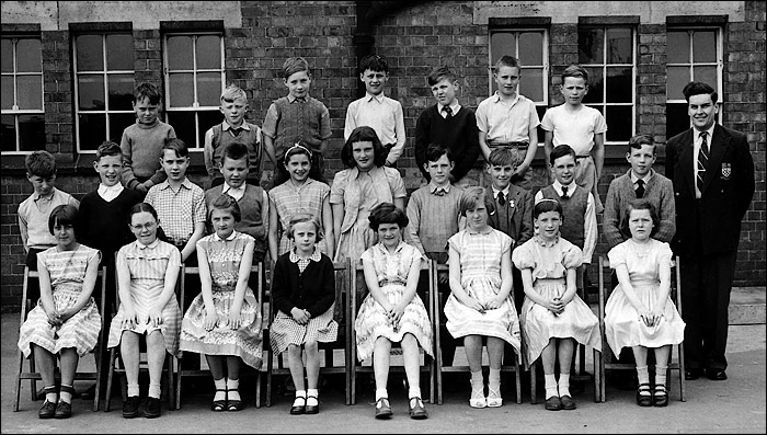 Burton Latimer Council School - Mr Norton's Class 1957-8