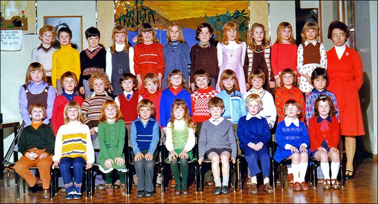 Mrs Pearsons class 1975-7