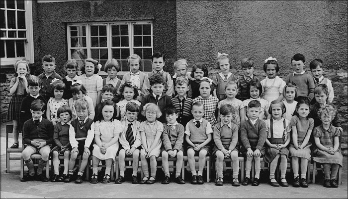 Burton Latimer Council Infants School - Mrs Williams' Class 1957-8
