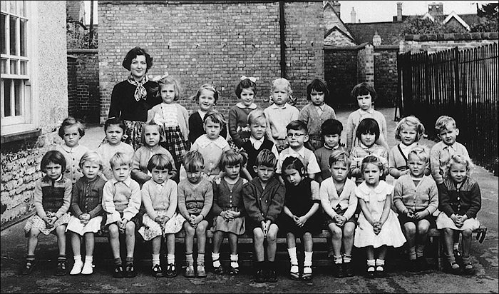 Burton Latimer Council Infants School - Mrs Marks Class 1955