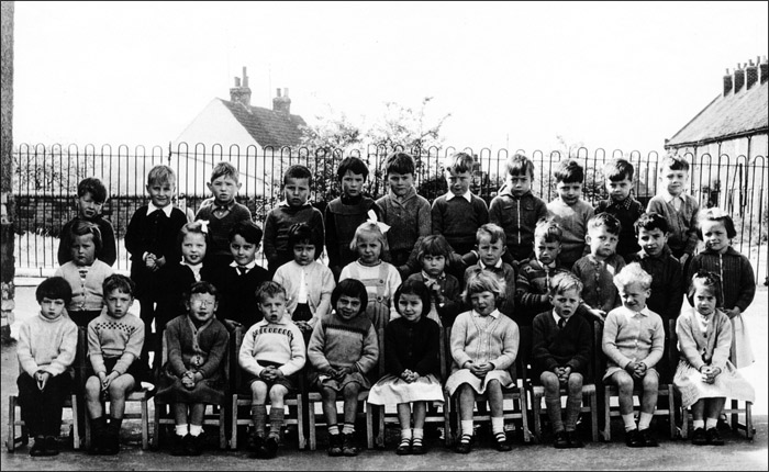 Burton Latimer Council Infants School - Unidentified Class 1958