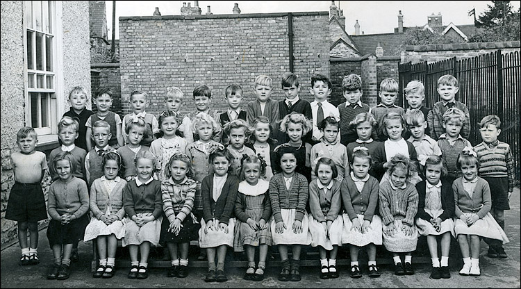 Burton Latimer Council Infants School - Unidentified Class 1954-5
