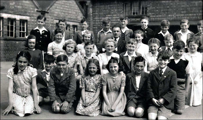 Burton Latimer Council School - Class 4 in 1951