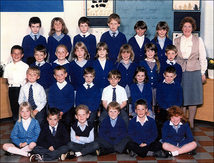 Burton Latimer - East Lea St Mary's School - Mrs Meadowcroft's Class 1987-8