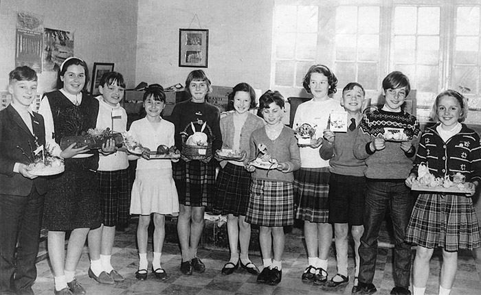 Burton Latimer Council School - Easter Competition winners - mid-1960s