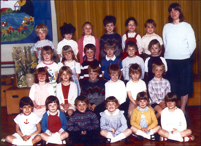 Meadowside Infants School - Unidentified Class 1984-5