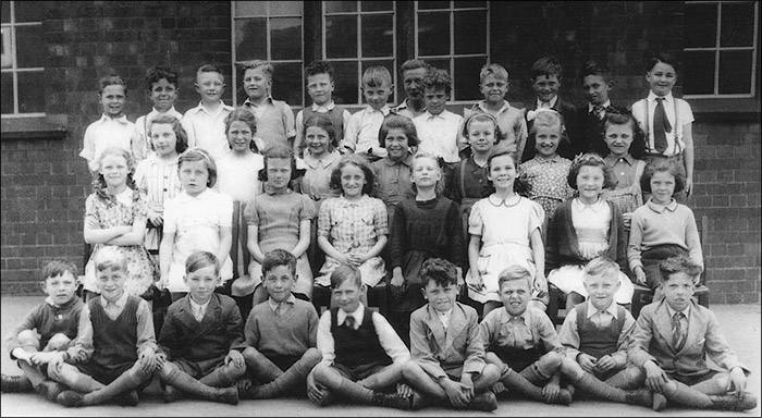 Burton Latimer Council School - Miss Stokes's Class 1947