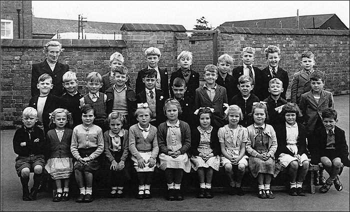Burton Latimer Council School - Miss Stokes's Class 1956-7