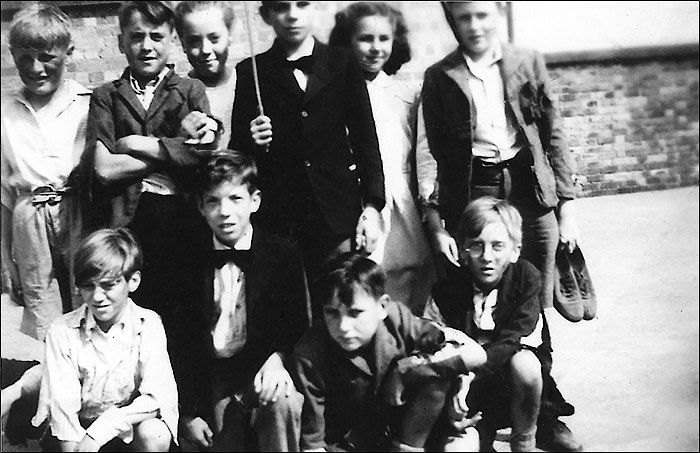"Burton Latimer Council Junior School - ""Nicholas Nickleby"" cast 1949"