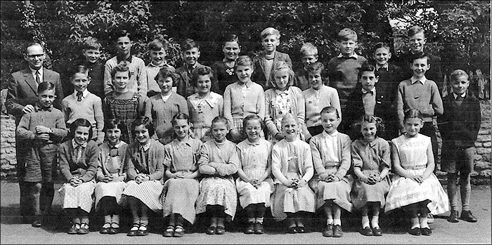St Mary's School, Burton Latimer :  Mr Pringle's Class 1958-9