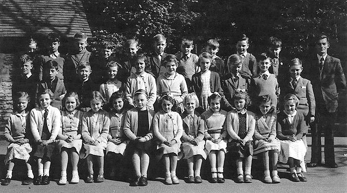 St Mary's School, Burton Latimer : Mr Seville's Class - 1956-7