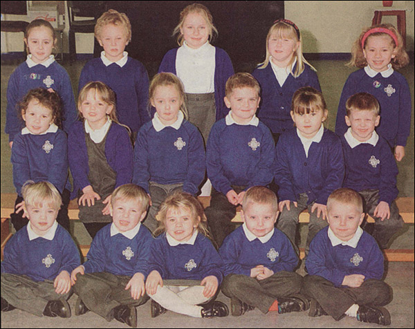 Miss Knight-Branch's Class - St Mary's School 2000-1
