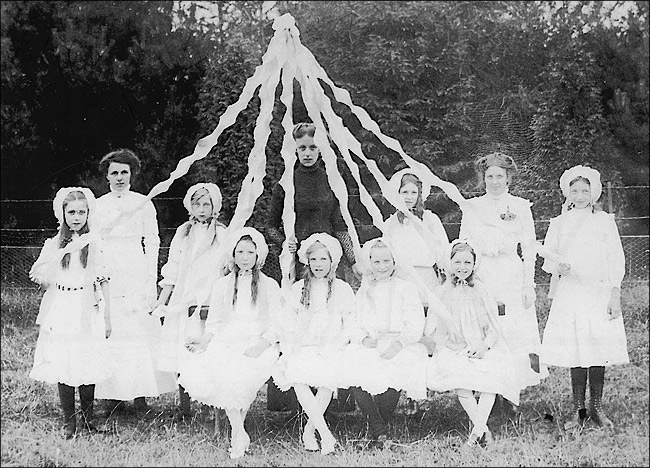 Unknown event at St Mary's School c.1910