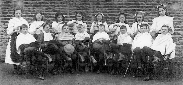 St Mary's School concert pupils 1909