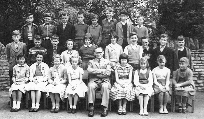 St Mary's School, Burton Latimer : Mr Pringle's Class 1959-60