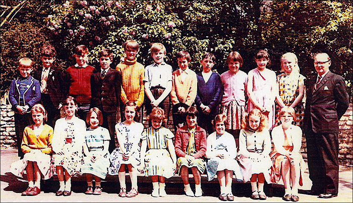 St Mary's School, Burton Latimer : St Mary's School Class - 1961-62