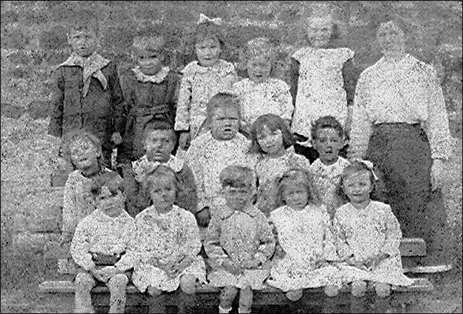 St Marys Church Infants School c1918