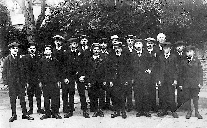 St Mary's School - Senior Boys c.1910