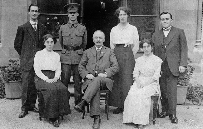 Burton Latimer St Marys School Staff in c.1915