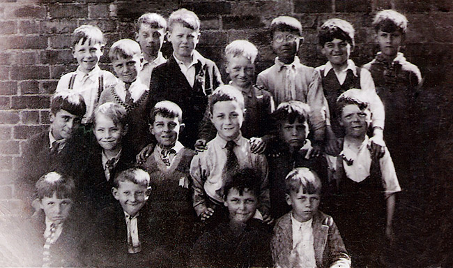 Burton Latimer Council Junior School - Boys Group c.1934