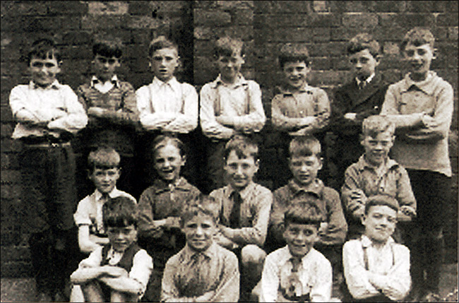 Burton Latimer Council Junior School - Boys Group c.1935