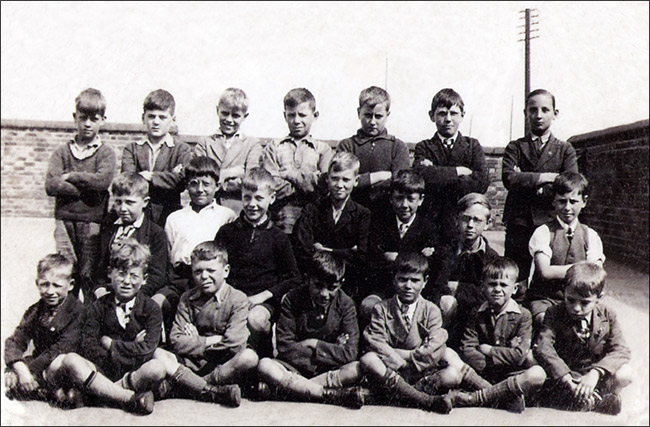 Burton Latimer Council Junior School - Boys Group c.1936