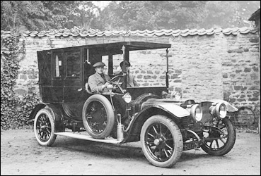 Clement Gilliat and his Morse taxi