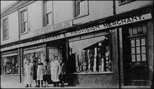 Barlow's main shop in about 1932