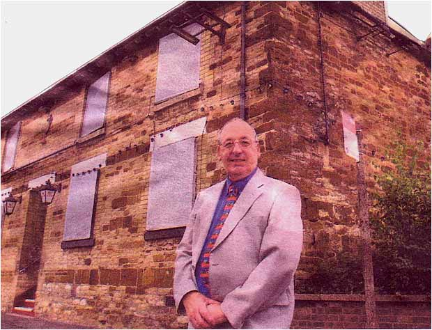 Photograph of John Meads of Burton Latimer Heritage Society