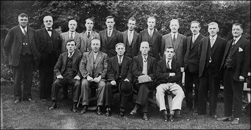 Photograph of Britannia Club Fur and Feather Committee 1930