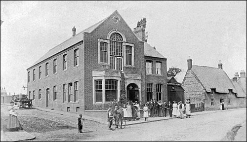 Photograph of The Britannia Working Men's Club soon after its opening in 1899.