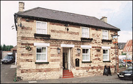 Modern photograph of Waggon and Horses before its closure.