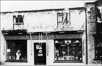 1 High Street, in about 1935, when A J Wittering ran a Furniture and General Dealership business