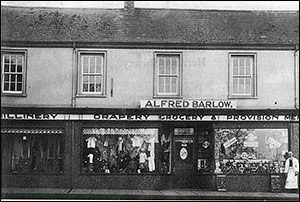 Alfred Barlow's grocery and drapery.