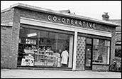 Exterior view of the Piggotts Lane branch of the Burton Latimer Co-operative Society