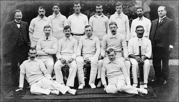 Cricket photograph - Runners up Kettering League Div 1 1905.