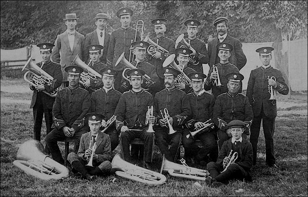 Britannia Silver Prize Band - Spalding, August 1911