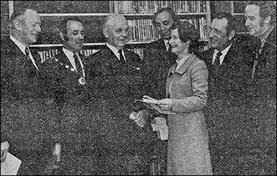 The opening of the new library, 1972.