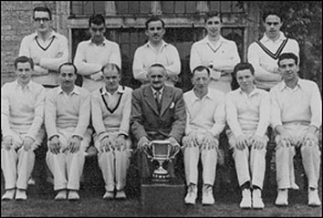 Photo Burton Latimer team Winners of Kettering & District Cricket League 1953