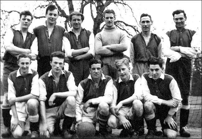A Burton Latimer Town football team from the mid 1950's