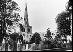 View of Parish Church from Church Lane c.1955