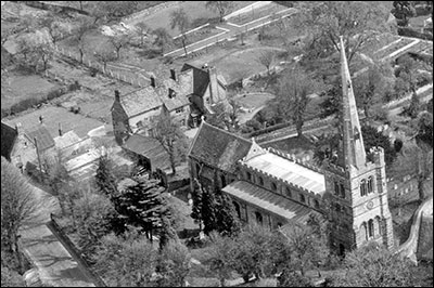 Photograph taken from the air 1958